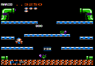 Screenshot Thumbnail / Media File 1 for Mario Bros (19xx)(Atari)[cr]